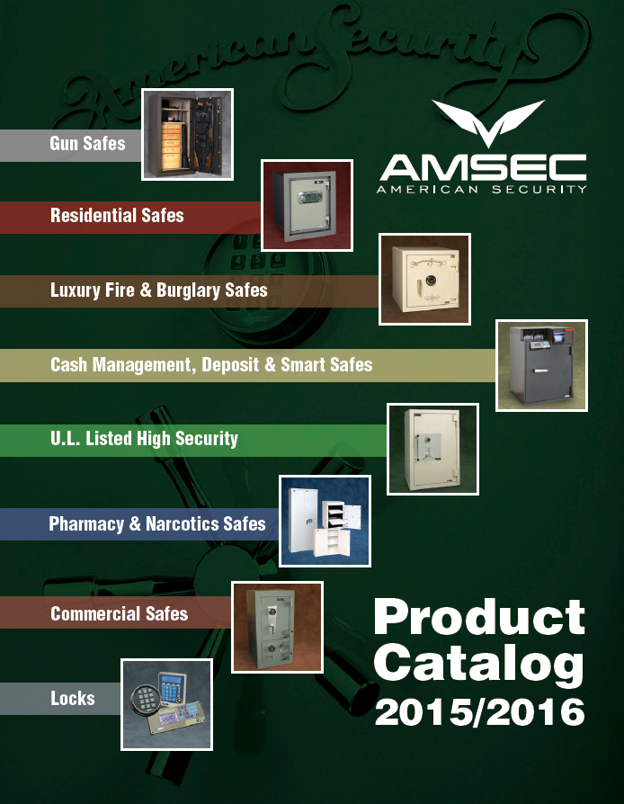 Amsec Safes Product Catalog by A to Z Lock and Key Locksmith
